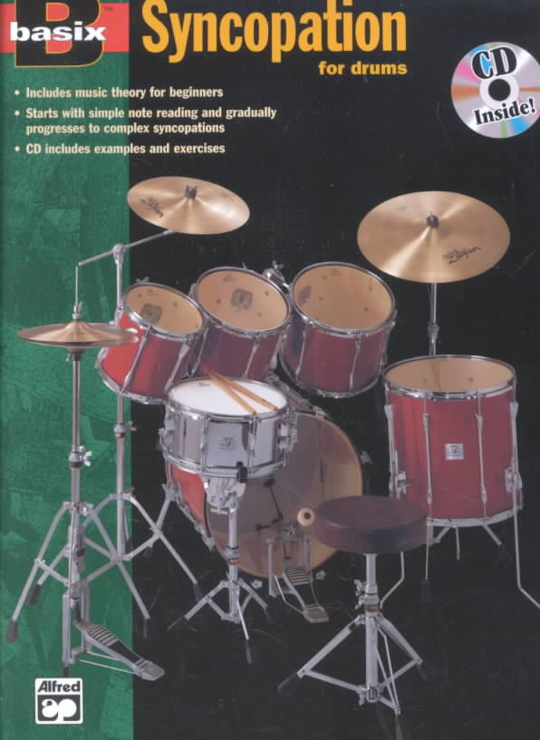 Basix Syncopation for Drums By Alfred Publishing Staff (COR)